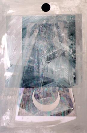 Semazen  Mixed Media on Paper  85cm x 55cm
