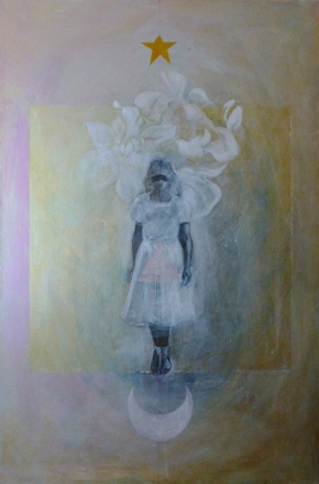 Undine   Acrylic on Canvas  2012
